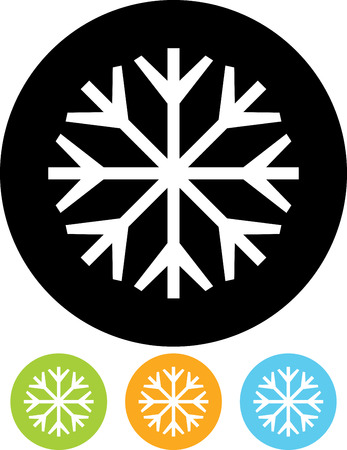 Snowflake - Vector illustration isolated Imagens - 52954216