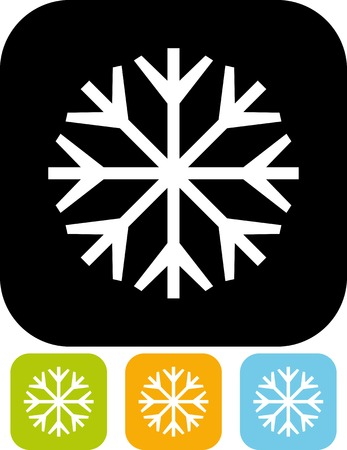Snowflake - Vector illustration isolated