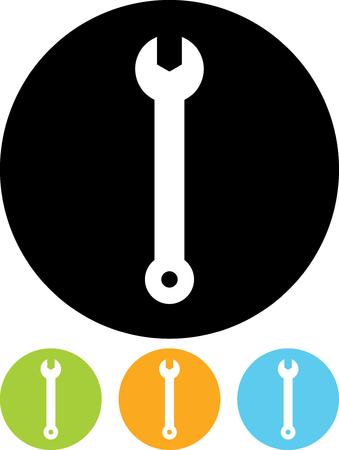 Wrench - Vector pictogram geïsoleerde