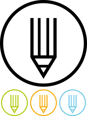Pencil vector icon