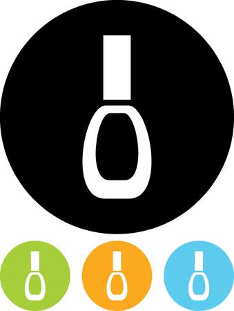 Nail polish - Vector icon isolated