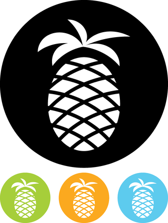 Pineapple - Vector icon isolated Фото со стока - 52955206