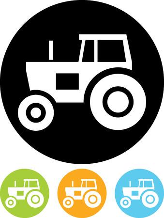 Tracteur vecteur icône Banque d'images - 52955288