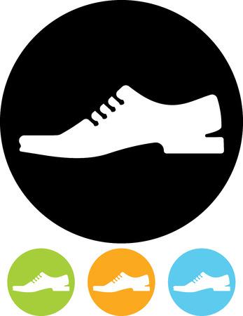 Man schoenen vector icoon