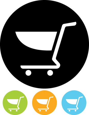 Vector icon - Shopping cart