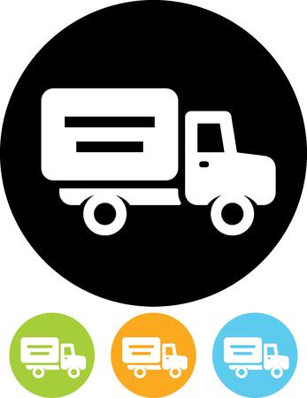 Delivery truck - Vectorpictogram