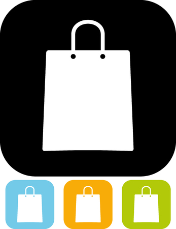 Shopping bag - Vector illustration isolated