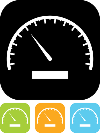 Speedometer vector icon Banque d'images - 52955896