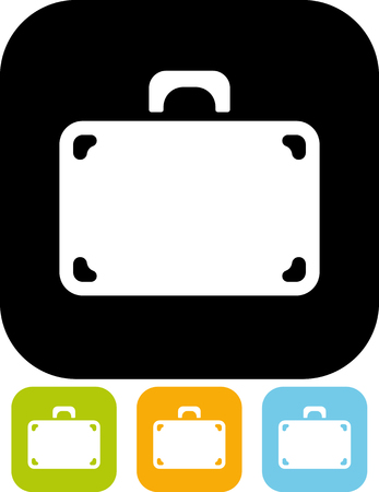 Suitcase - Vector illustration isolated
