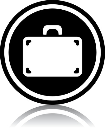 Travel bag suitcase - Vector illustration isolated 向量圖像