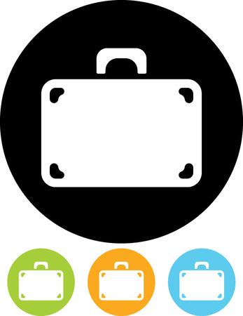 Reiskoffer - Vector illustratie geïsoleerde