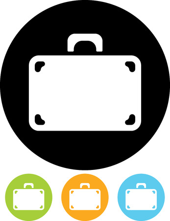 Travel suitcase - Vector illustration isolated
