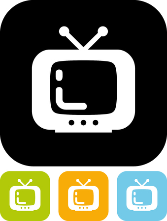 Television - Simple vector icon
