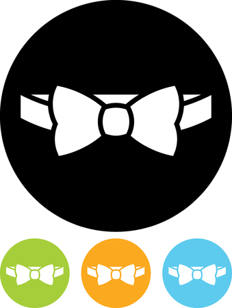 Bow tie - Vector icon isolated Illustration