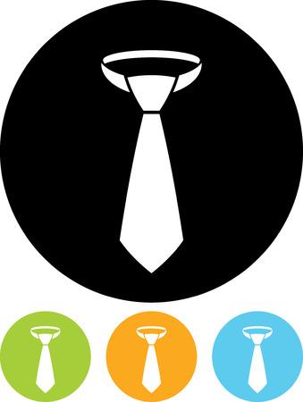 Necktie - Vector icon isolated