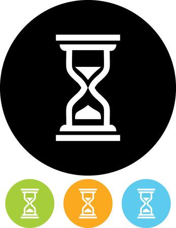 Vector icon - Hourglass Çizim