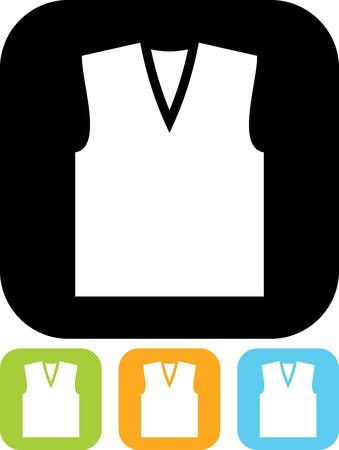Vest vector icon