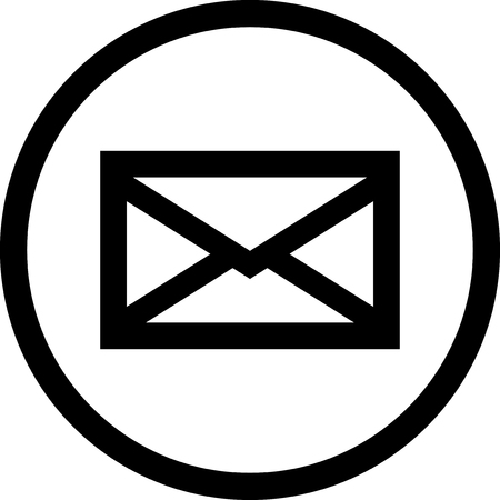 Mail message - Vector icon isolated