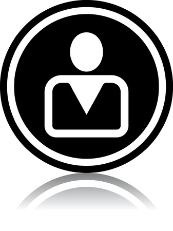 Person - Vector icon isolated