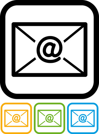 New Email Message Vector Icon