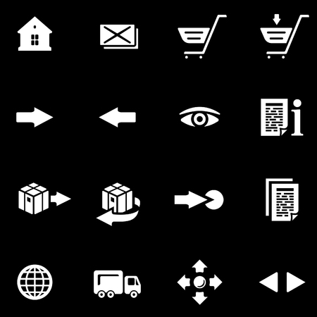 Vector Ecommerce Icon Set