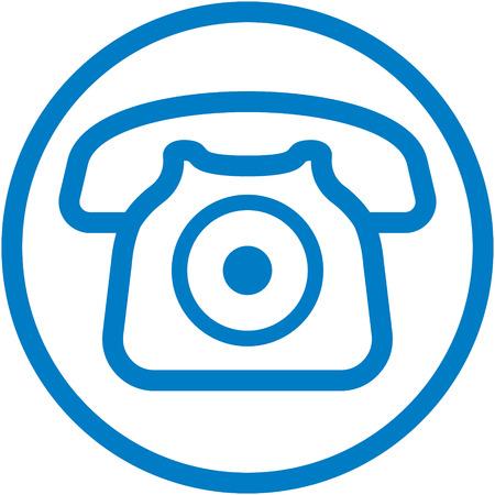Simple phone icon - vector illustration Illusztráció