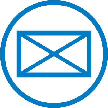 New message alert Illusztráció