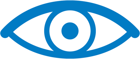 Eye - Vector icon isolated