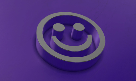 Happy Face in 3D