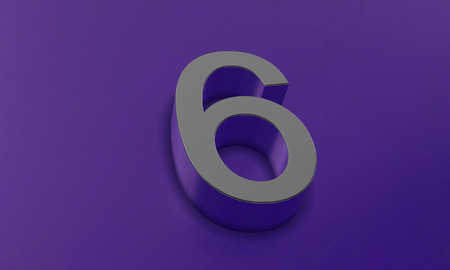 Number Six in 3D
