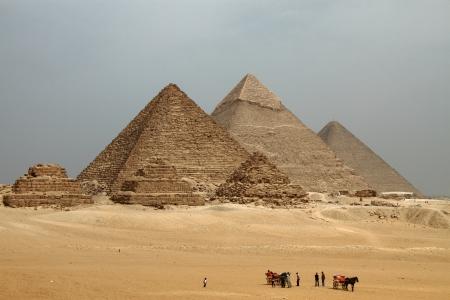 giza: Giza Pyramids - Egypt