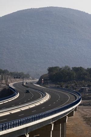 Viaduct Garista in the hinterland of Trogir photo