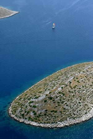 kornati: Parco Nazionale di Kornati, Kornati, mare Adriatico in Croazia Archivio Fotografico