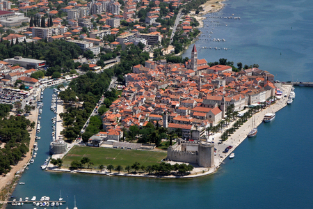 Trogir is a historic town and harbour on the Adriatic coast in Split-Dalmatia County, Croatia