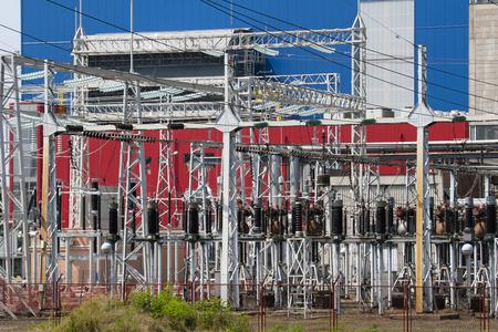 Power plant Sisak in Croatia