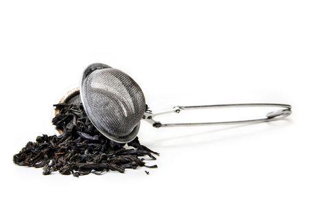 ストレーナー茶葉します。