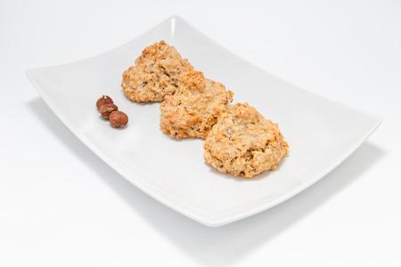 """Cookies \ """"brutti ma buoni \"""" - a base di nocciole e miele Archivio Fotografico - 39382802"""