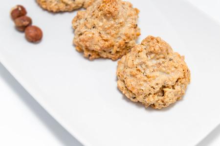 """Cookies \ """"brutti ma buoni \"""" - a base di nocciole e miele. Archivio Fotografico - 39382803"""