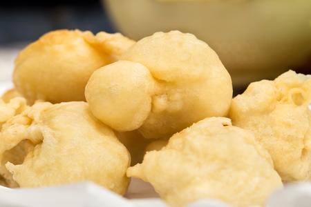 zeppola: Tipical neapolitan savory pancake