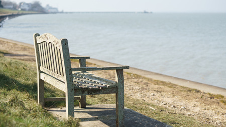 Bench on the sea - Isle of Wight