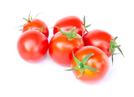 Fresh tomatoe isolated on white background, Raw food Stock fotó