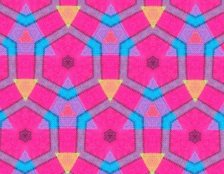 cotton: Geometric fabric
