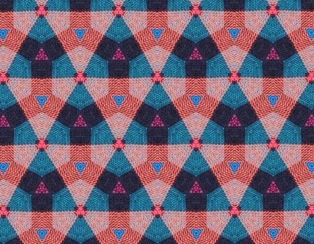 fabric: Geometric fabric
