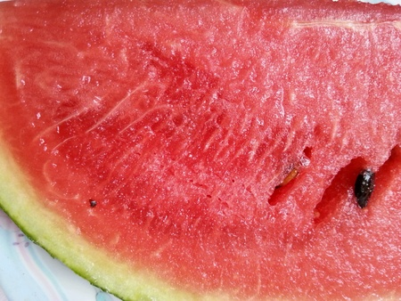up: Watermelon closed up Stock Photo
