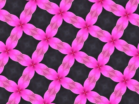 cotton: Pink pattern