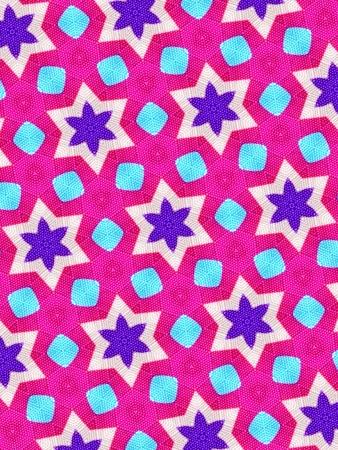 cotton fabric: Pink background Stock Photo