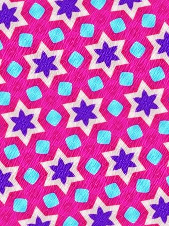 cotton: Pink background Stock Photo