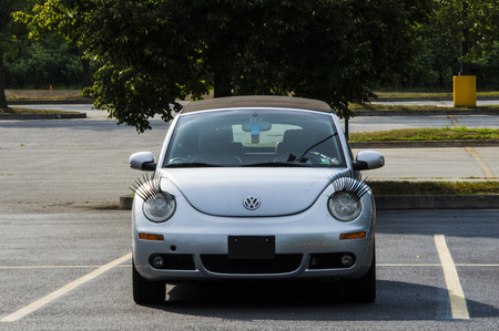 volts: Volts Wagon beetle with eye lashes