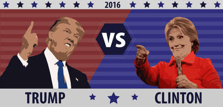 donald: Donald Trump VS Hillary Clinton