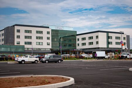 The new UPMC hospital under construction in York, Pennsylvainia